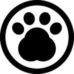 pawprint-in-a-circle-of-pet-hotel-sign_318-51334